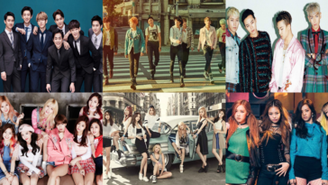 Popular K-pop Group