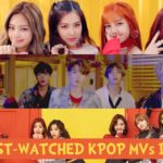 10 Most-Watched Kpop MVs in 2017