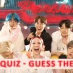 BTS Quiz 2019