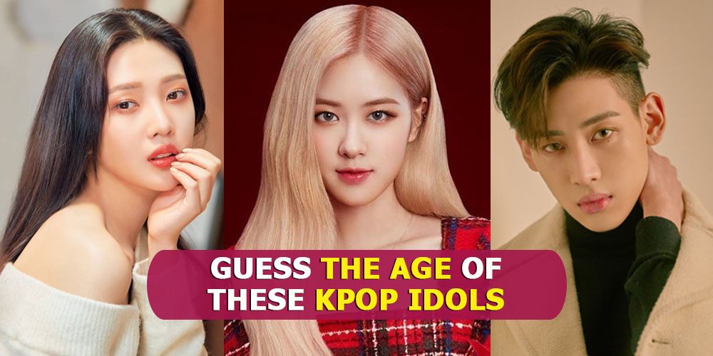 Kpop Quiz 2020 Can You Guess All The Ages Of These Kpop Idols