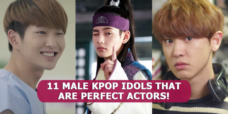 11 Male Kpop Idols That Prove Themselves As A Perfect K Drama Actors