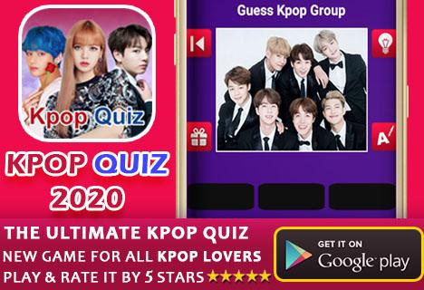 Kpop Quiz 2020